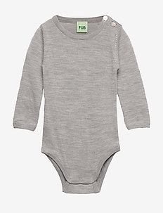 baby body - LIGHT GREY