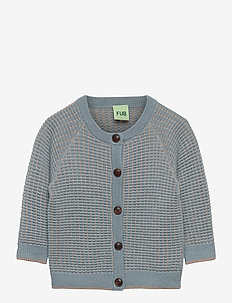 Baby Structure Cardigan - cardigans - dusty green