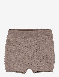 Baby Bloomers - shorts - beige melange