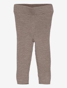 Baby Leggings - leggings - beige melange