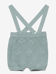 Baby Leaf Bloomers - gilets - dusty blue