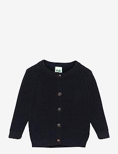 Baby Cardigan - gebreide vesten - dark navy