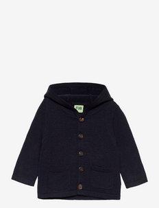 Baby Felted Jacket - gilets - dark navy