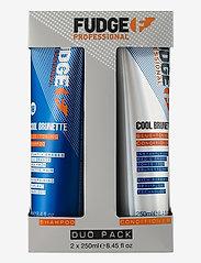 Fudge - Cool Brunette Duo 2x250 ml - hårvårdsset - no colour - 0