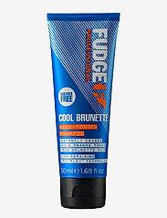 Fudge - Cool Brunette Blue Toning Shampoo - silver shampoo - no colour - 0