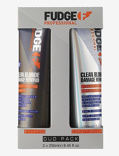 Clean Blonde DUO 2x250 ml - hiustenhoitosetit - no colour