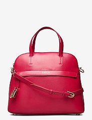 Furla - FURLA PIPER M DOME - handväskor - ruby - 0