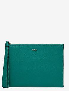 FURLA BABYLON - kortholdere - smeraldo i