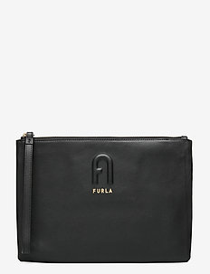FURLA RITA - clutches - nero