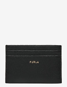 FURLA BABYLON S CARD CASE - kaart houders - nero