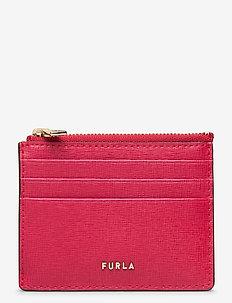 FURLA BABYLON S CARD CASE - kaart houders - ruby