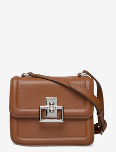 FURLA VILLA - crossbody bags - cognac h