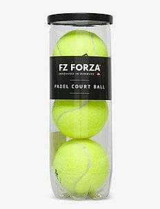 FZ FORZA PADEL COURT BALL X3 - ballen en accessoires - 5001 safety yellow