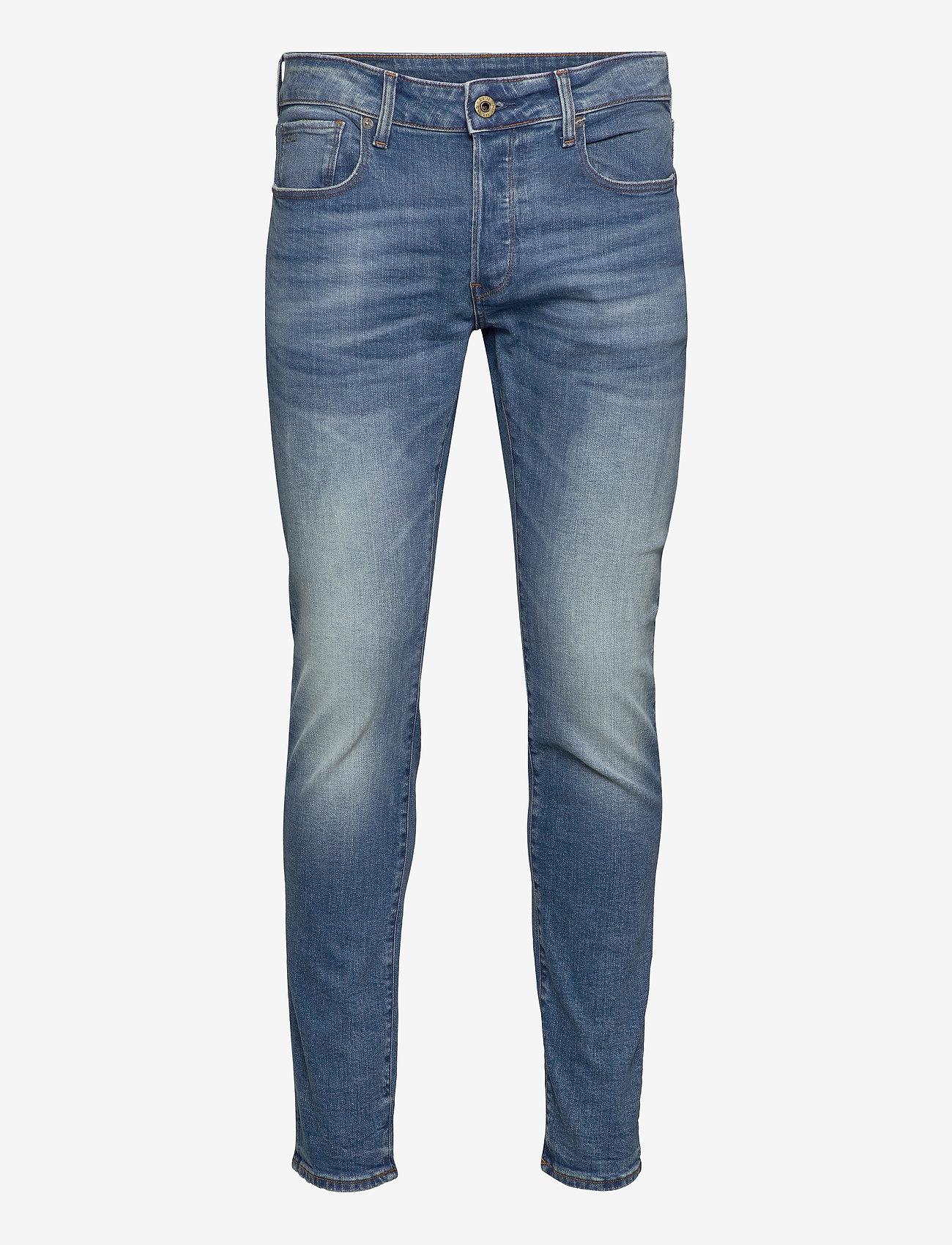 G-star RAW - 3301 Slim - slim jeans - authentic faded blue - 0