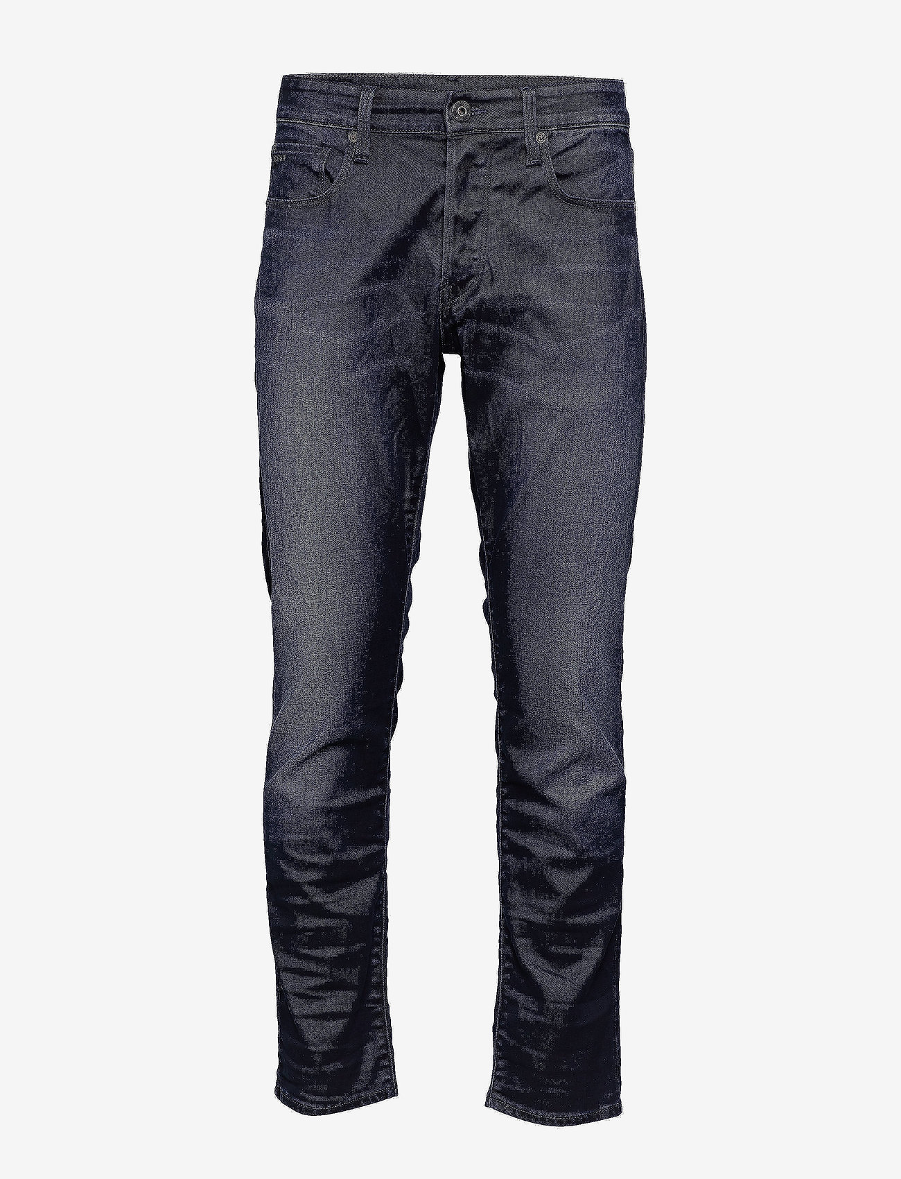 G-star RAW - 3301 Straight Tapered - tapered jeans - dk aged - 0