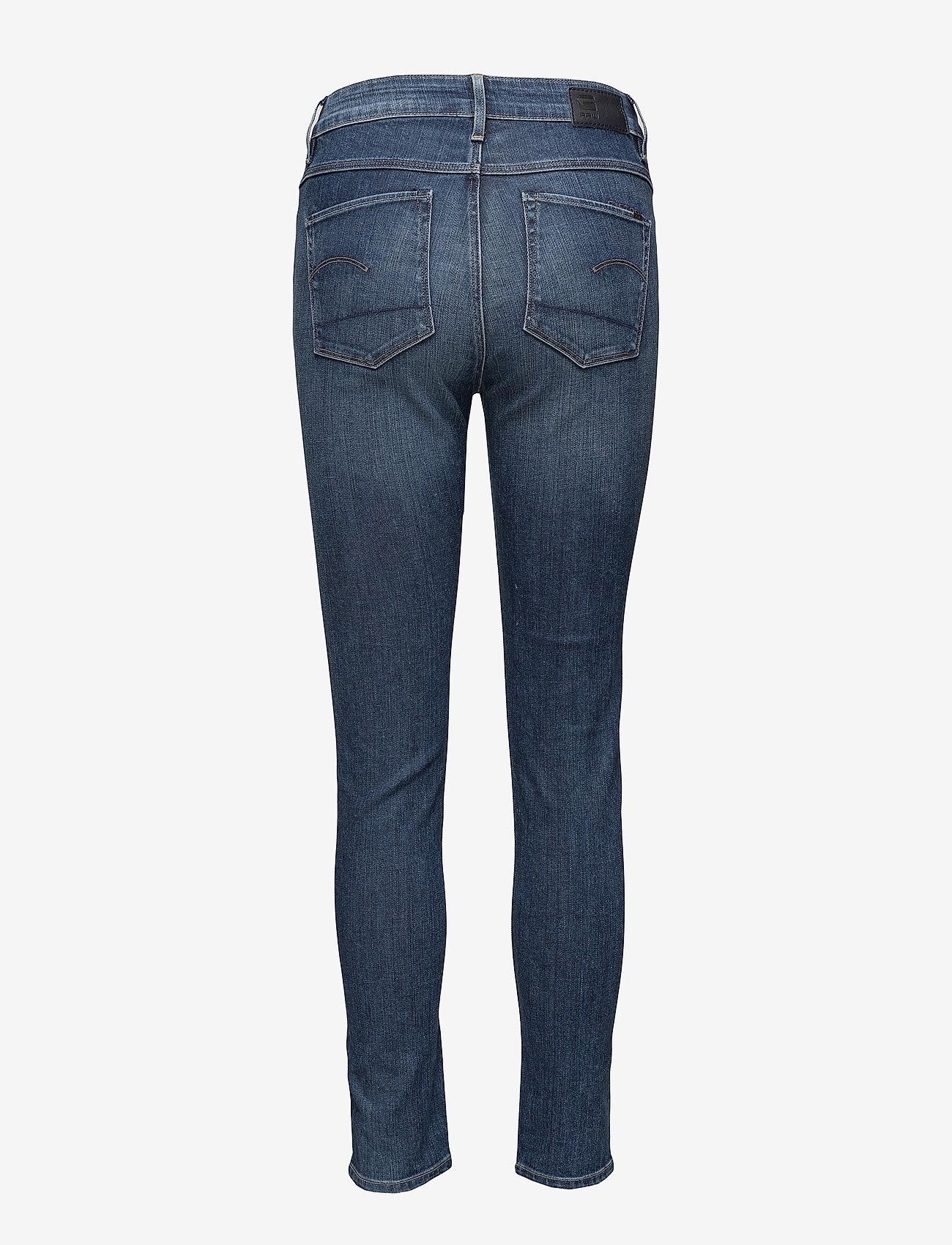 G-star RAW - 3301 ult hi sup - jeans skinny - dk aged - 1