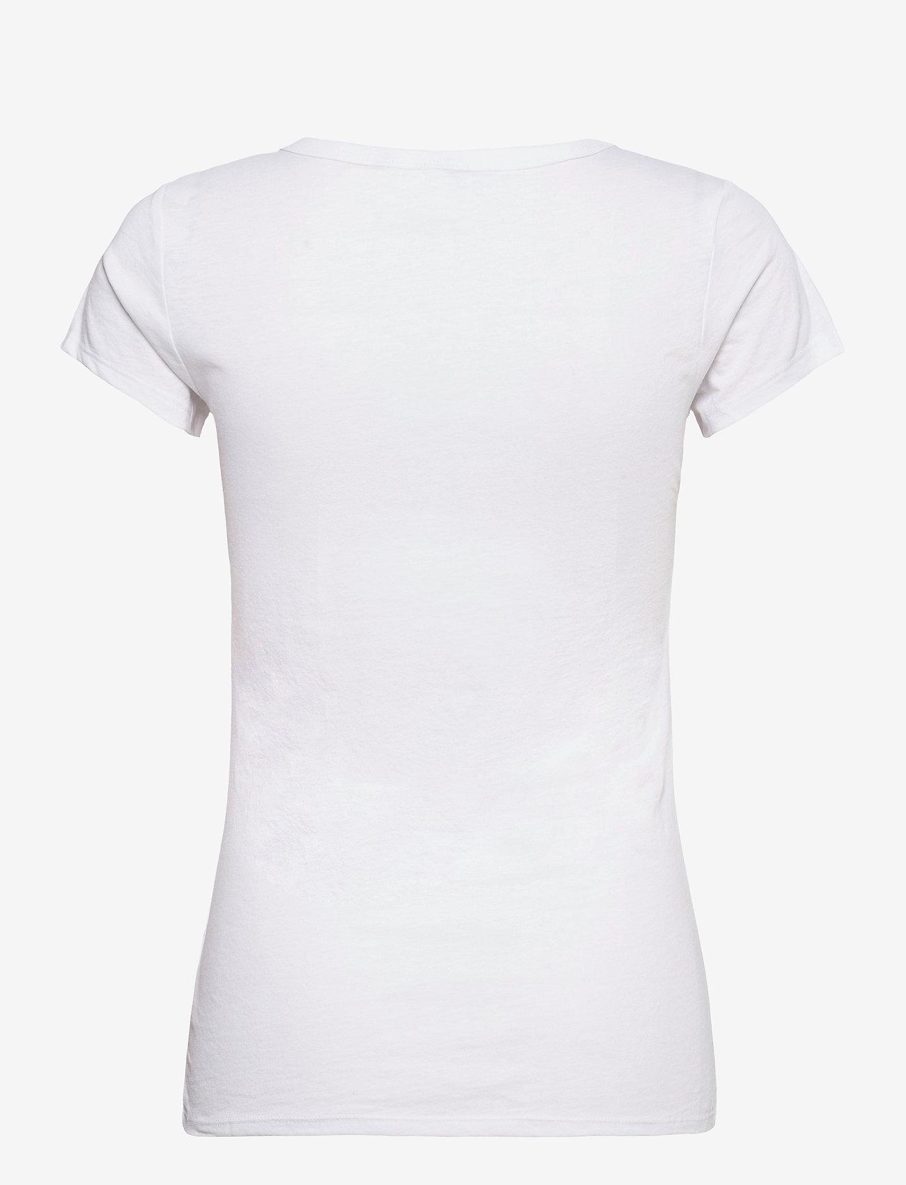 G-star RAW - Eyben slim r t wmn s\s - t-shirts - white - 1