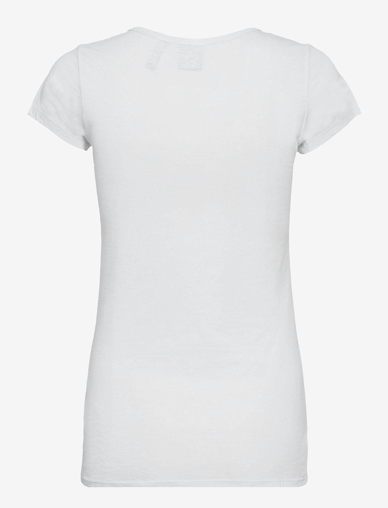 G-star RAW - Eyben slim v t wmn s\s - t-shirts - white - 1