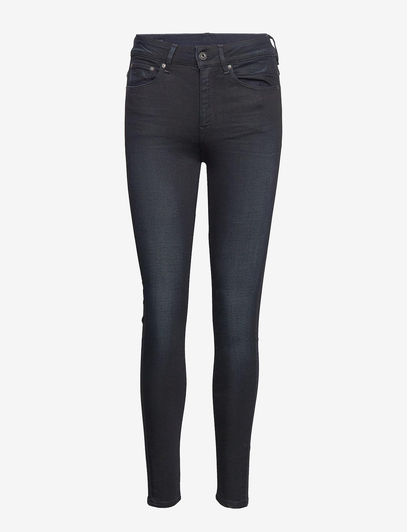 G-star RAW - 3301 High Skinny Wmn - skinny jeans - dk aged - 0