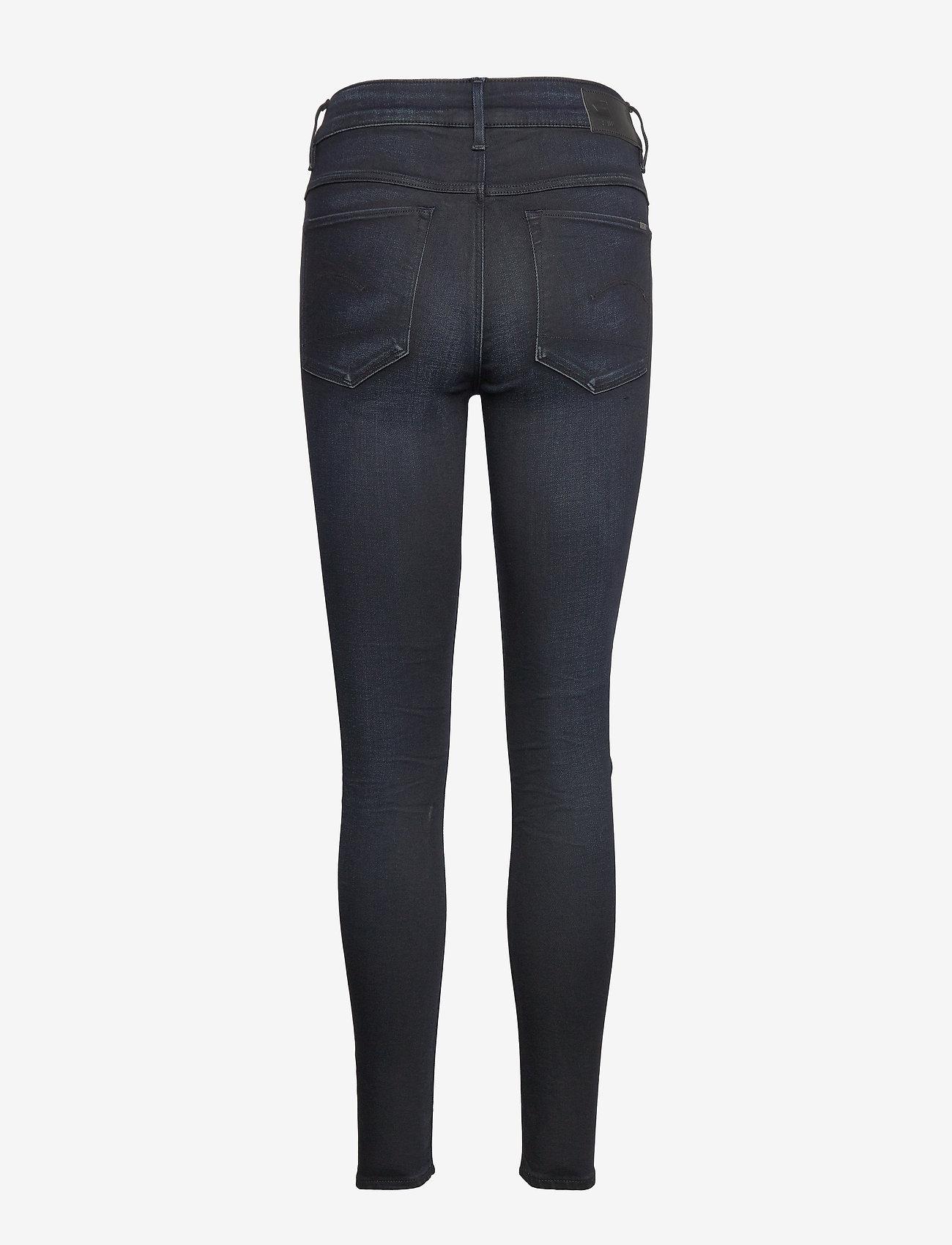 G-star RAW - 3301 High Skinny Wmn - skinny jeans - dk aged - 1