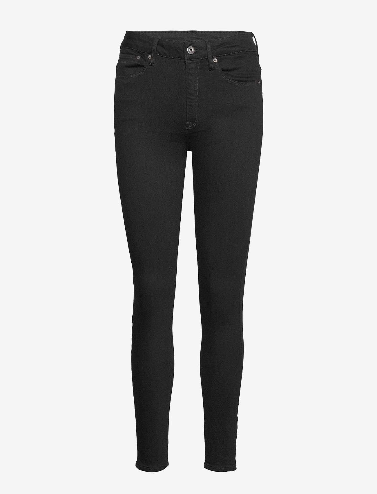 G-star RAW - 3301 High Skinny Wmn - skinny jeans - pitch black - 0