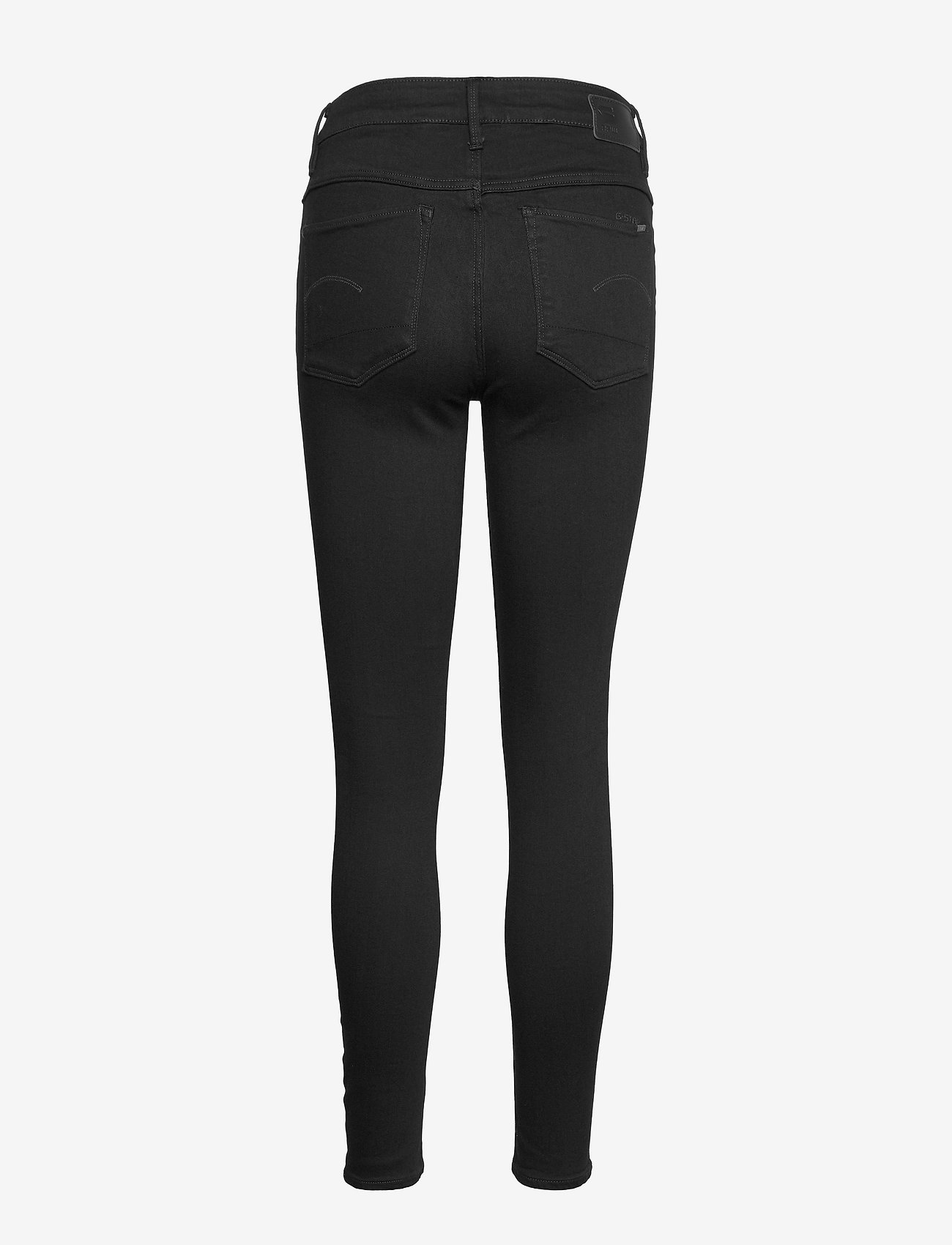 G-star RAW - 3301 High Skinny Wmn - skinny jeans - pitch black - 1