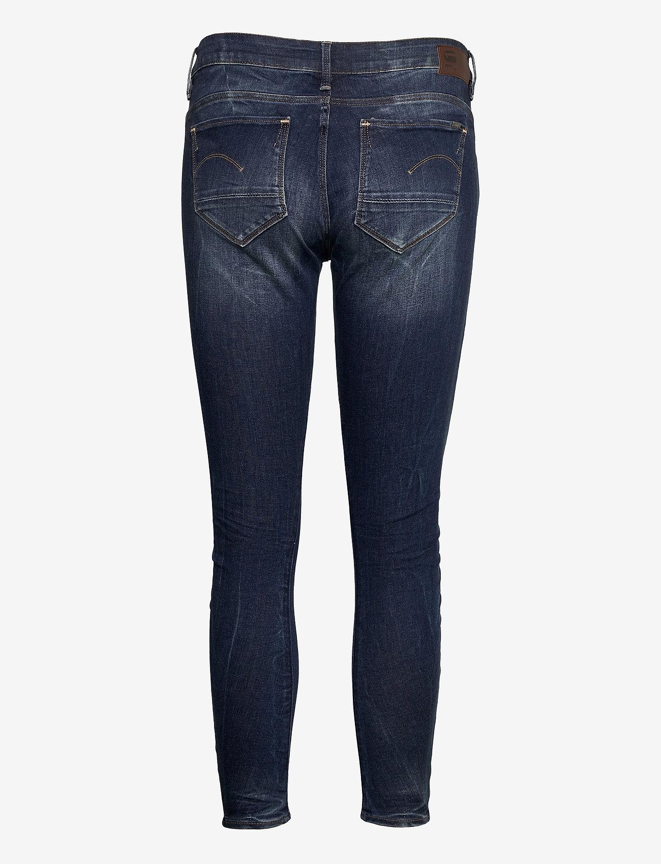 G-star RAW - Arc 3D Mid Skinny Wmn - skinny jeans - dk aged - 1