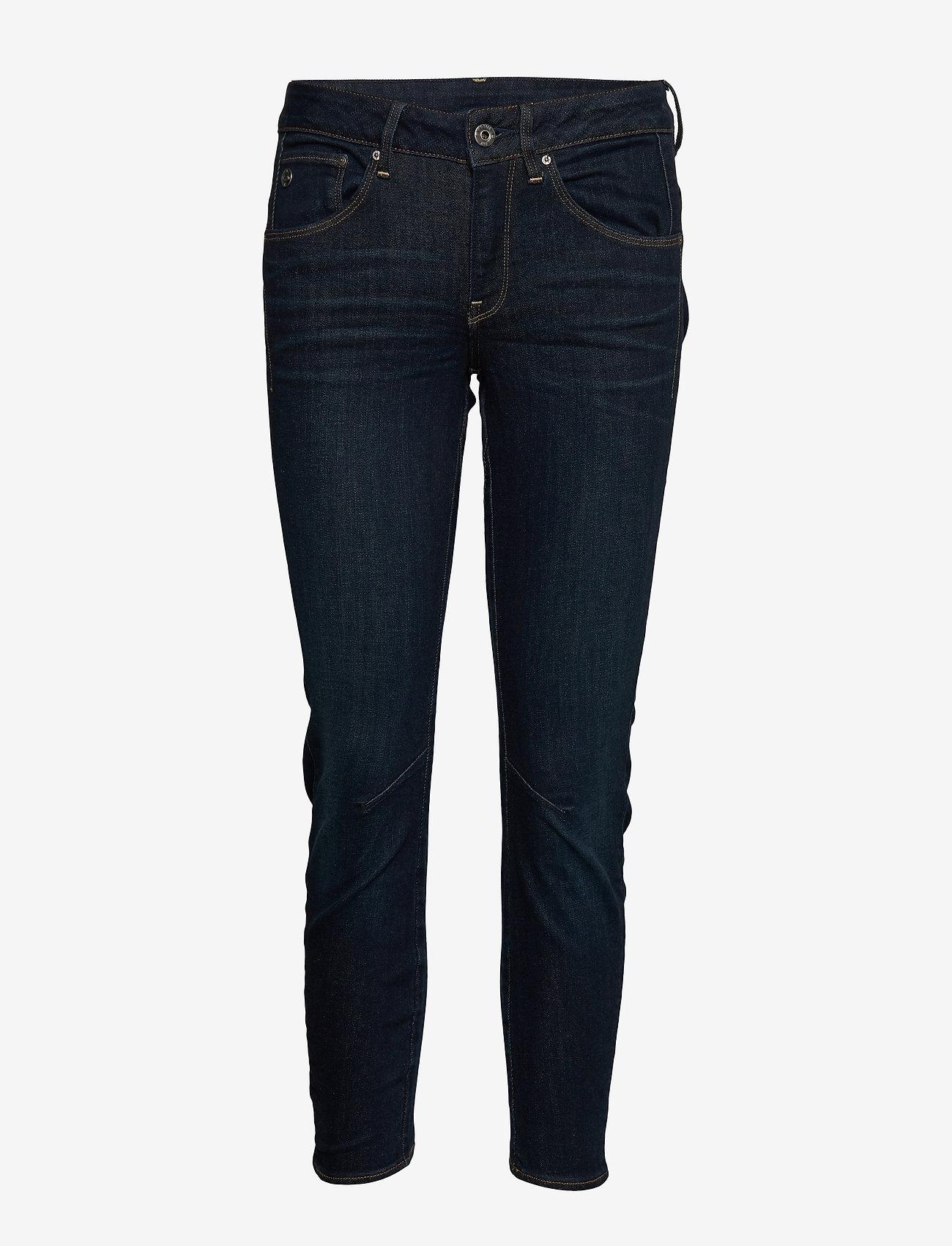 G-star RAW - Arc 3D Mid Skinny Wmn - skinny jeans - dk aged - 0