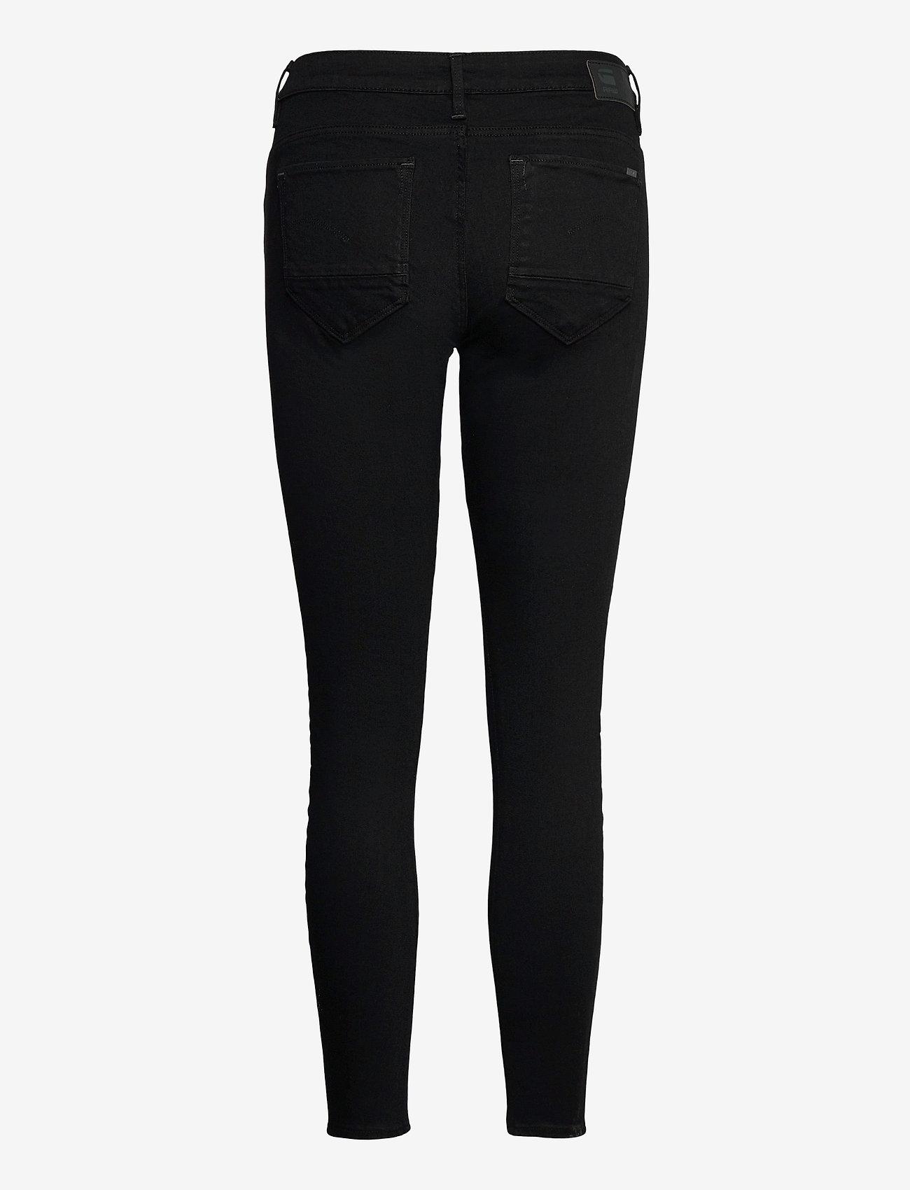 G-star RAW - Arc 3D Mid Skinny Wmn - skinny jeans - pitch black - 1