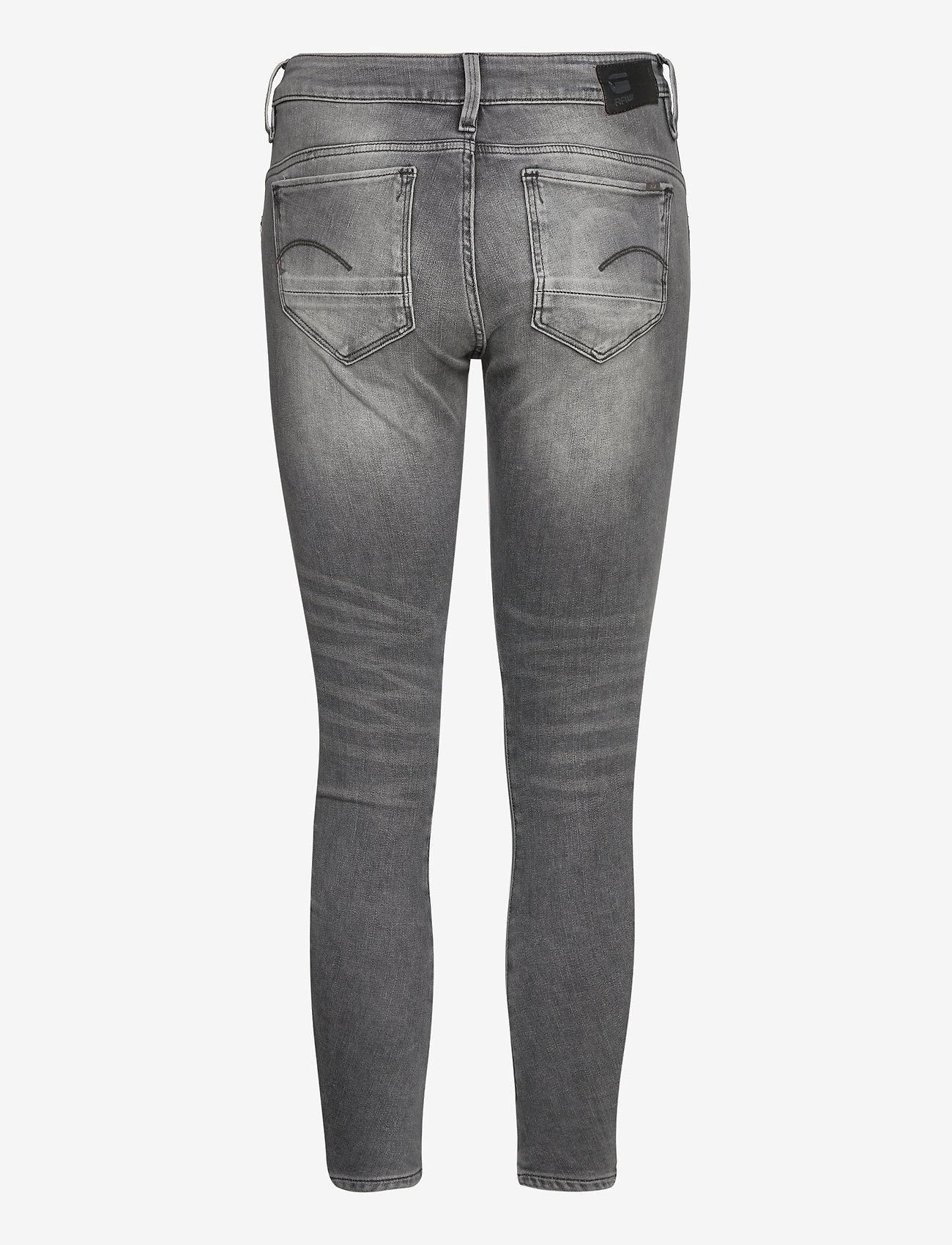 G-star RAW - Arc 3D Mid Skinny Wmn - skinny jeans - vintage basalt - 1