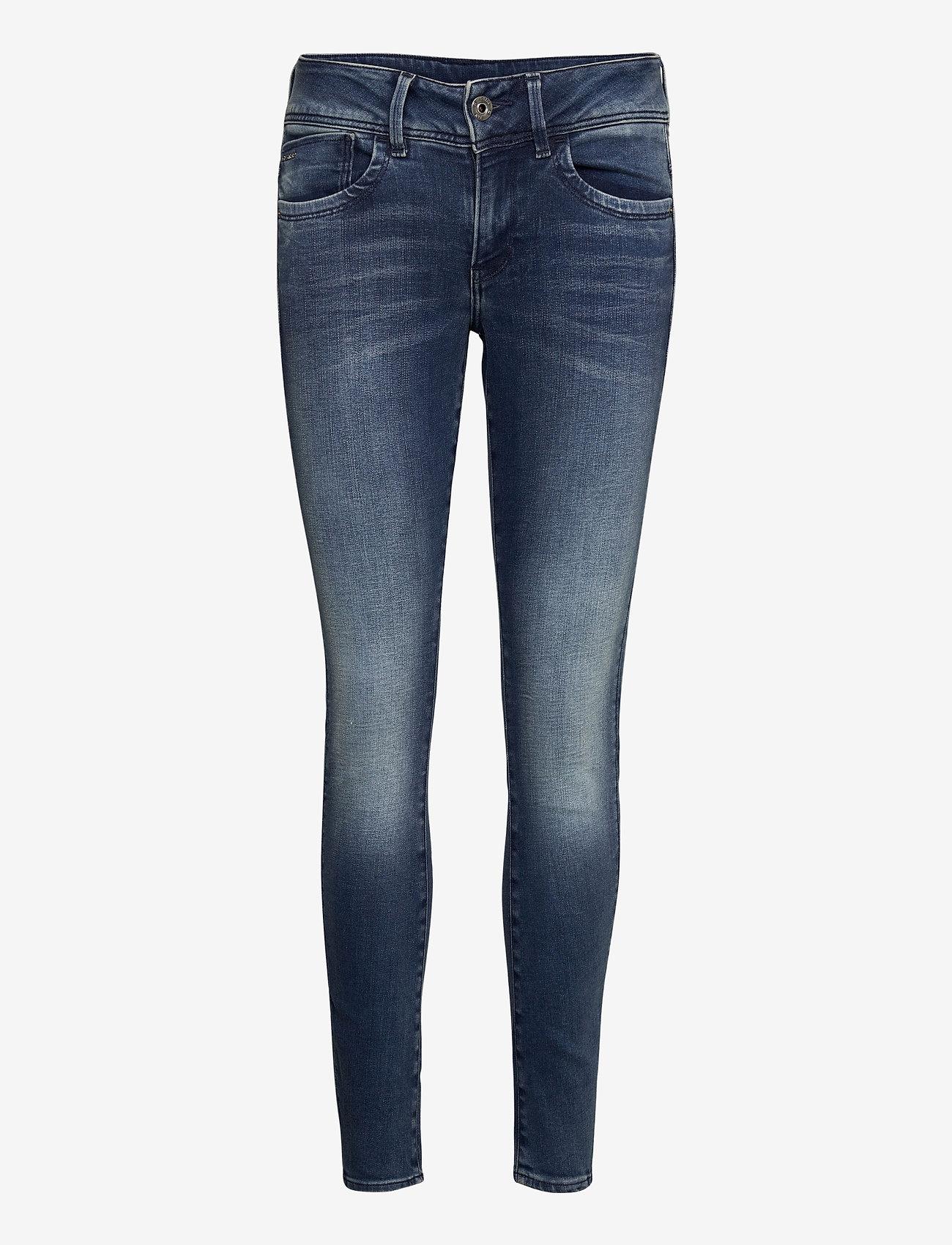 G-star RAW - Lynn Mid Skinny Wmn NEW - skinny jeans - antic blue - 0