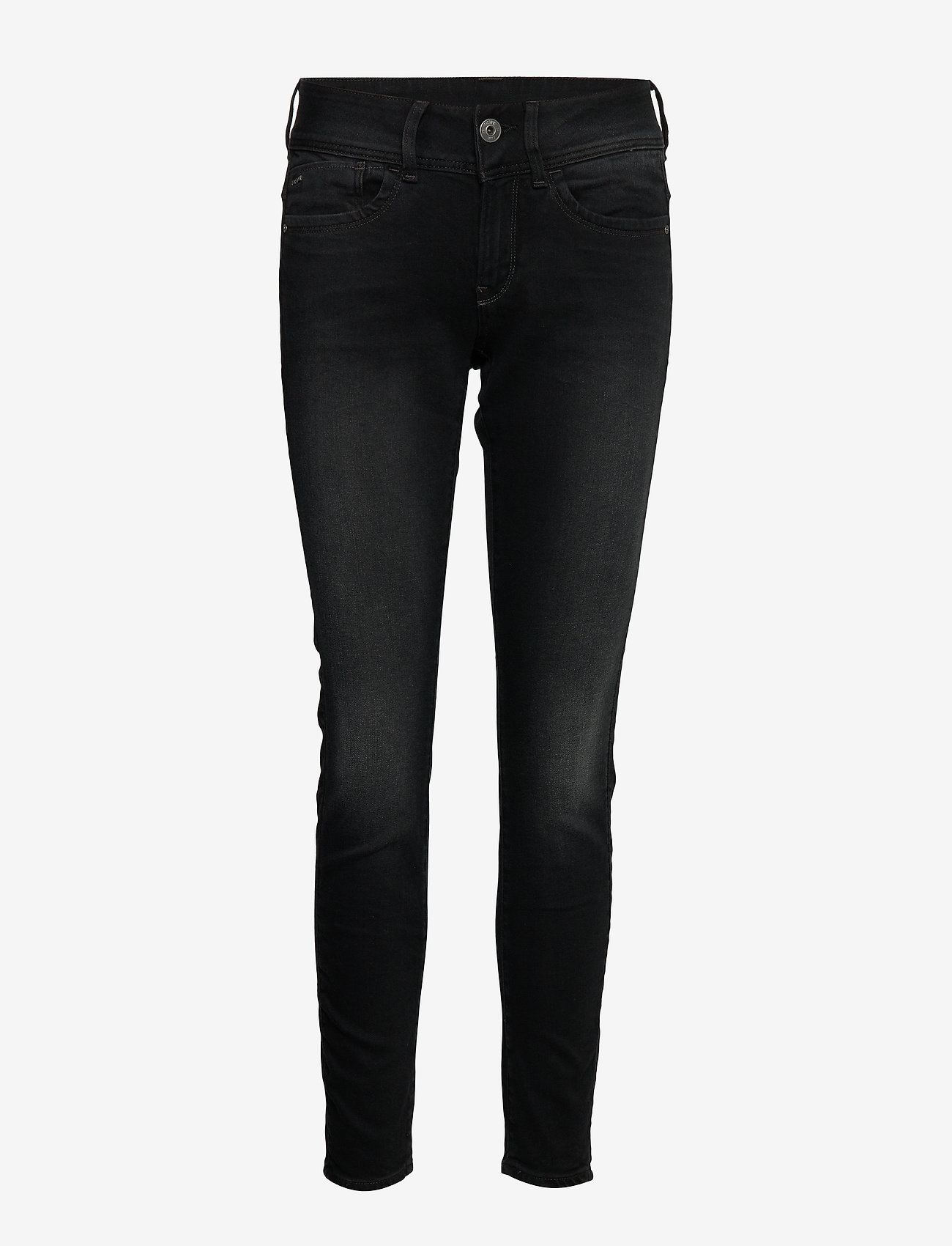 G-star RAW - Lynn Mid Skinny Wmn NEW - skinny jeans - dusty grey - 0