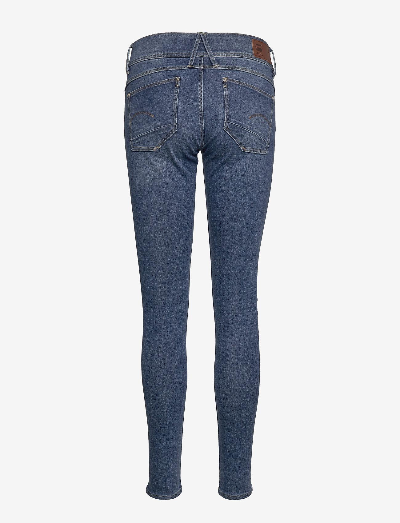 G-star RAW - Lynn Mid Skinny Wmn NEW - skinny jeans - faded blue - 1