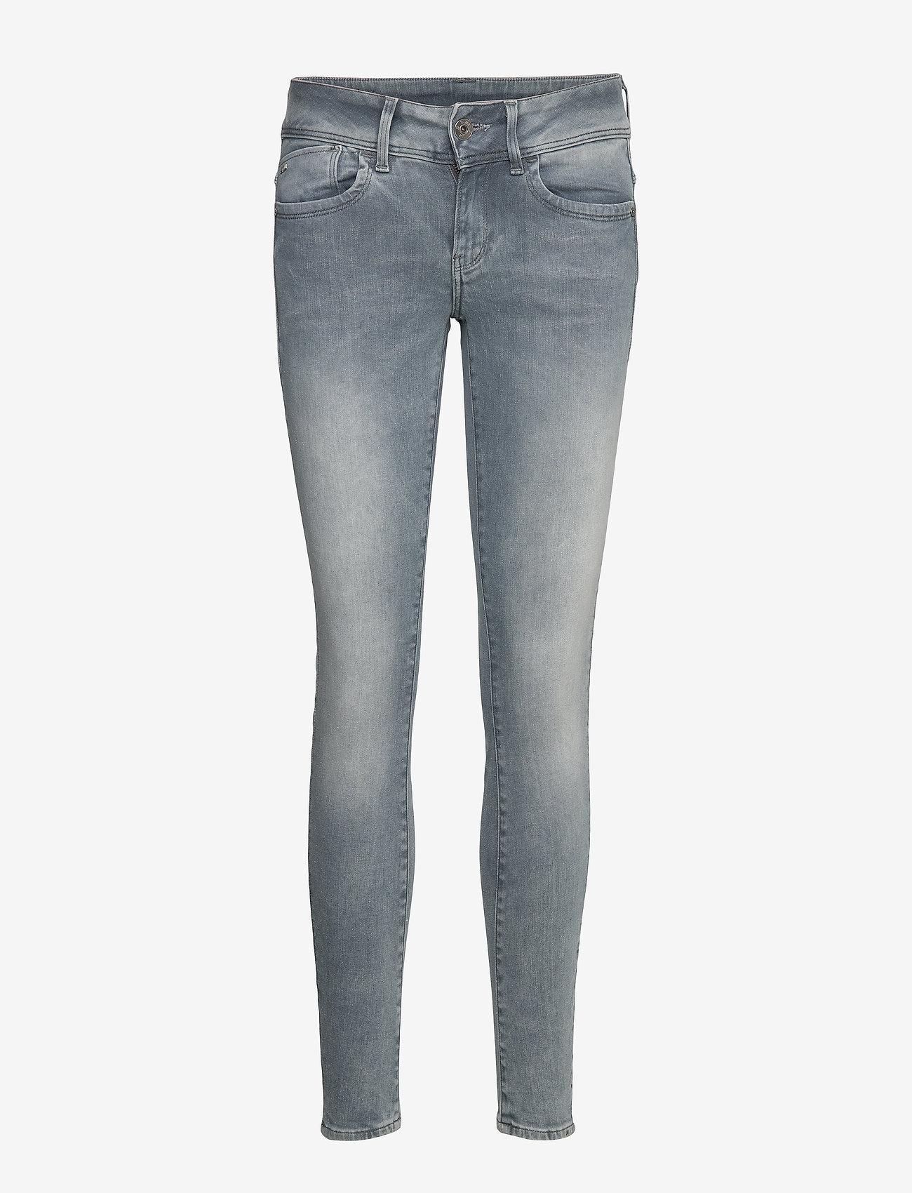 G-star RAW - Lynn Mid Skinny Wmn NEW - skinny jeans - faded industrial grey - 0