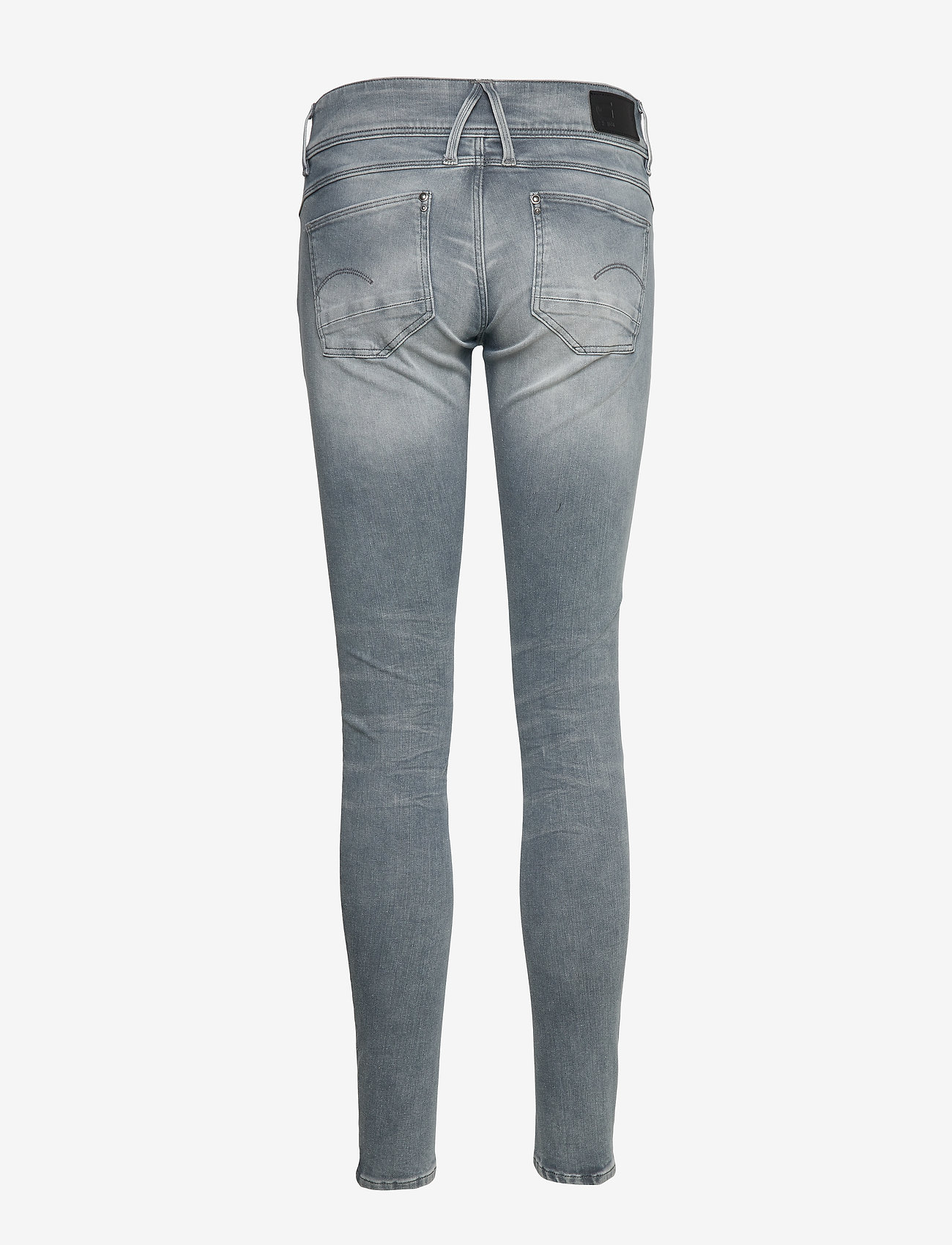 G-star RAW - Lynn Mid Skinny Wmn NEW - skinny jeans - faded industrial grey - 1