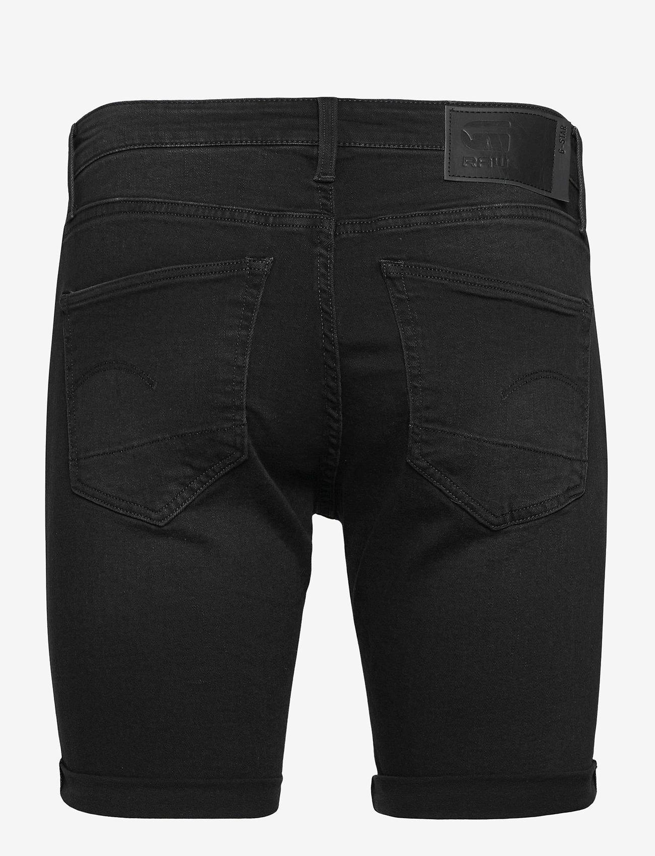 G-star RAW - 3301 Slim short - denim shorts - worn in meteor - 1