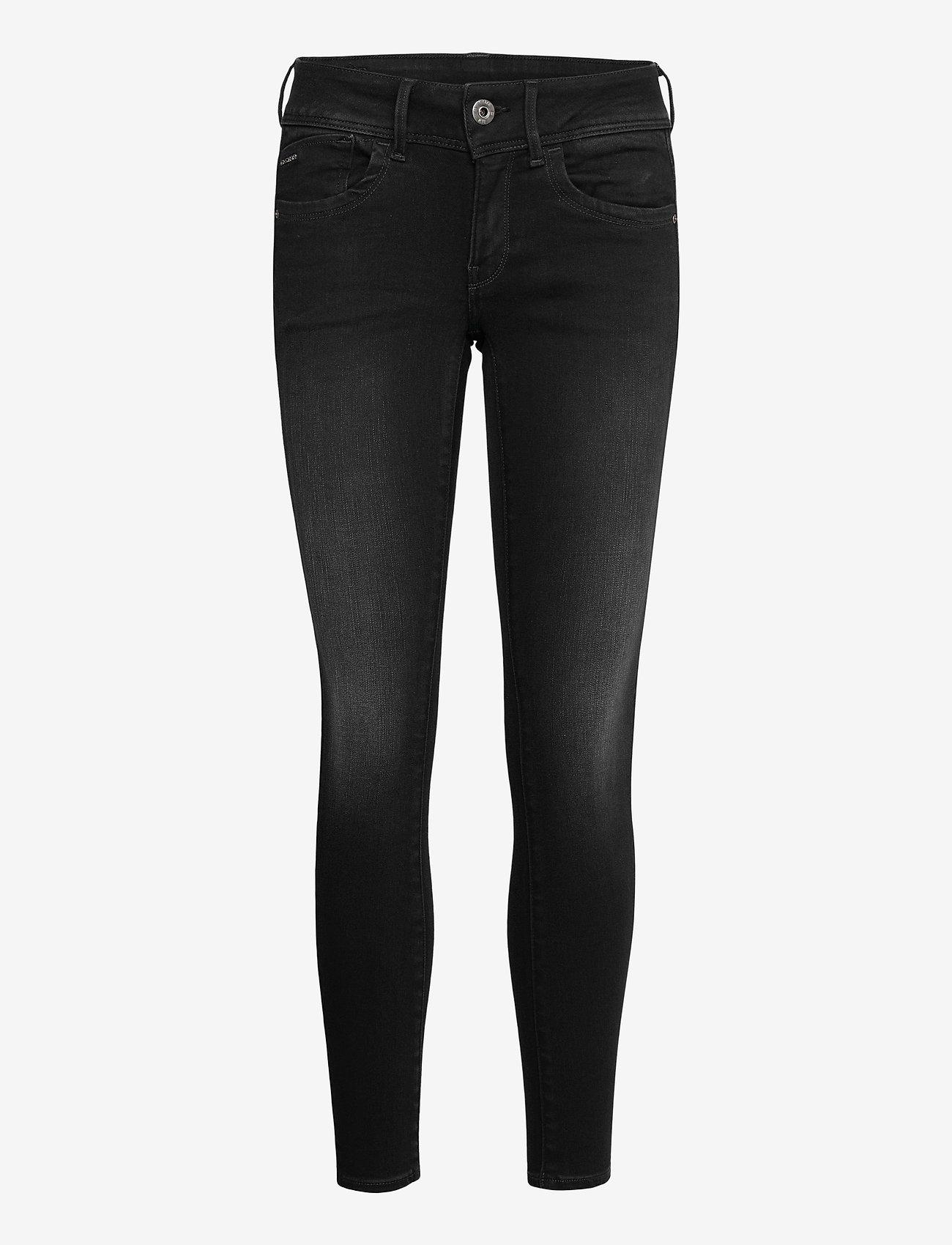 G-star RAW - Lynn Mid Super Skinny Wmn - skinny jeans - dusty grey - 0
