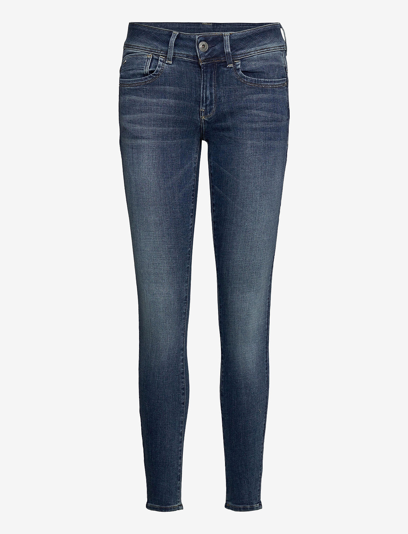 G-star RAW - Lynn Mid Super Skinny Wmn - skinny jeans - faded blue - 0