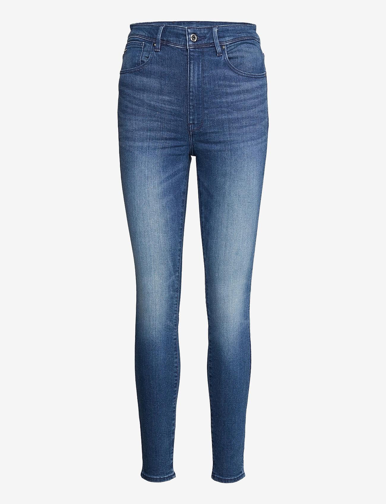 G-star RAW - Kafey Ultra High Skinny Wmn - skinny jeans - faded neptune blue - 0