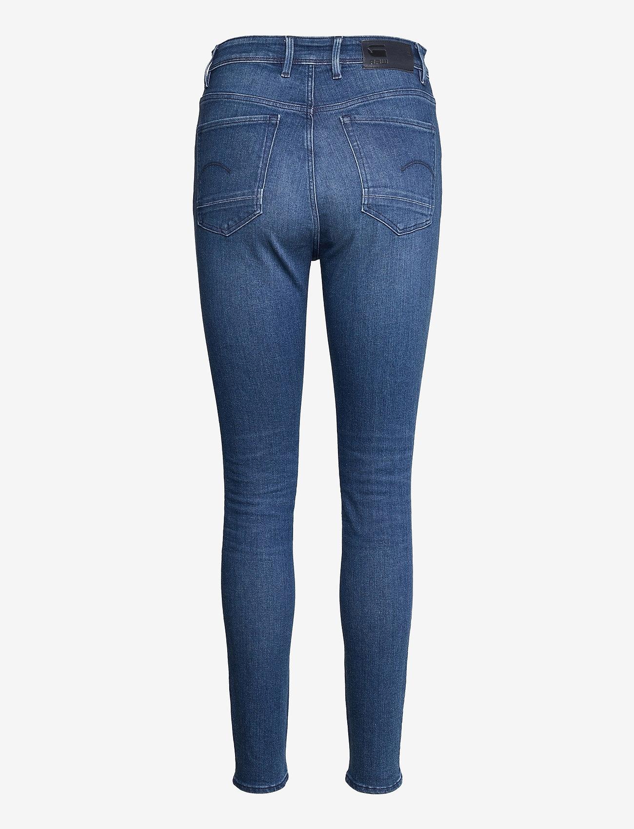 G-star RAW - Kafey Ultra High Skinny Wmn - skinny jeans - faded neptune blue - 1