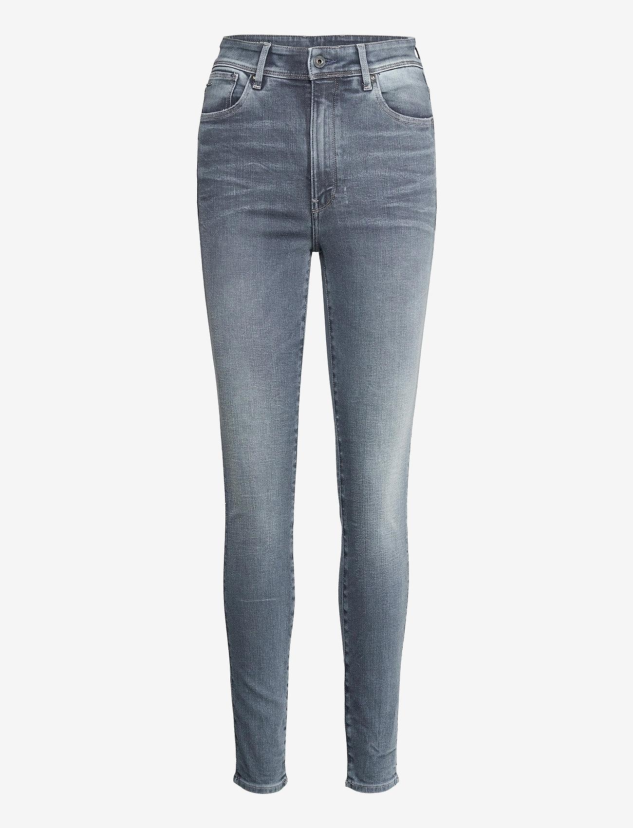 G-star RAW - Kafey Ultra High Skinny Wmn - skinny jeans - worn in smokey night - 0