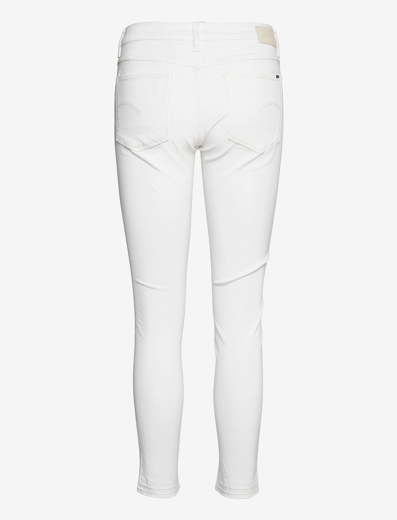 G-star RAW - 3301 Mid Skinny rp Ankle Wmn - skinny jeans - white - 1