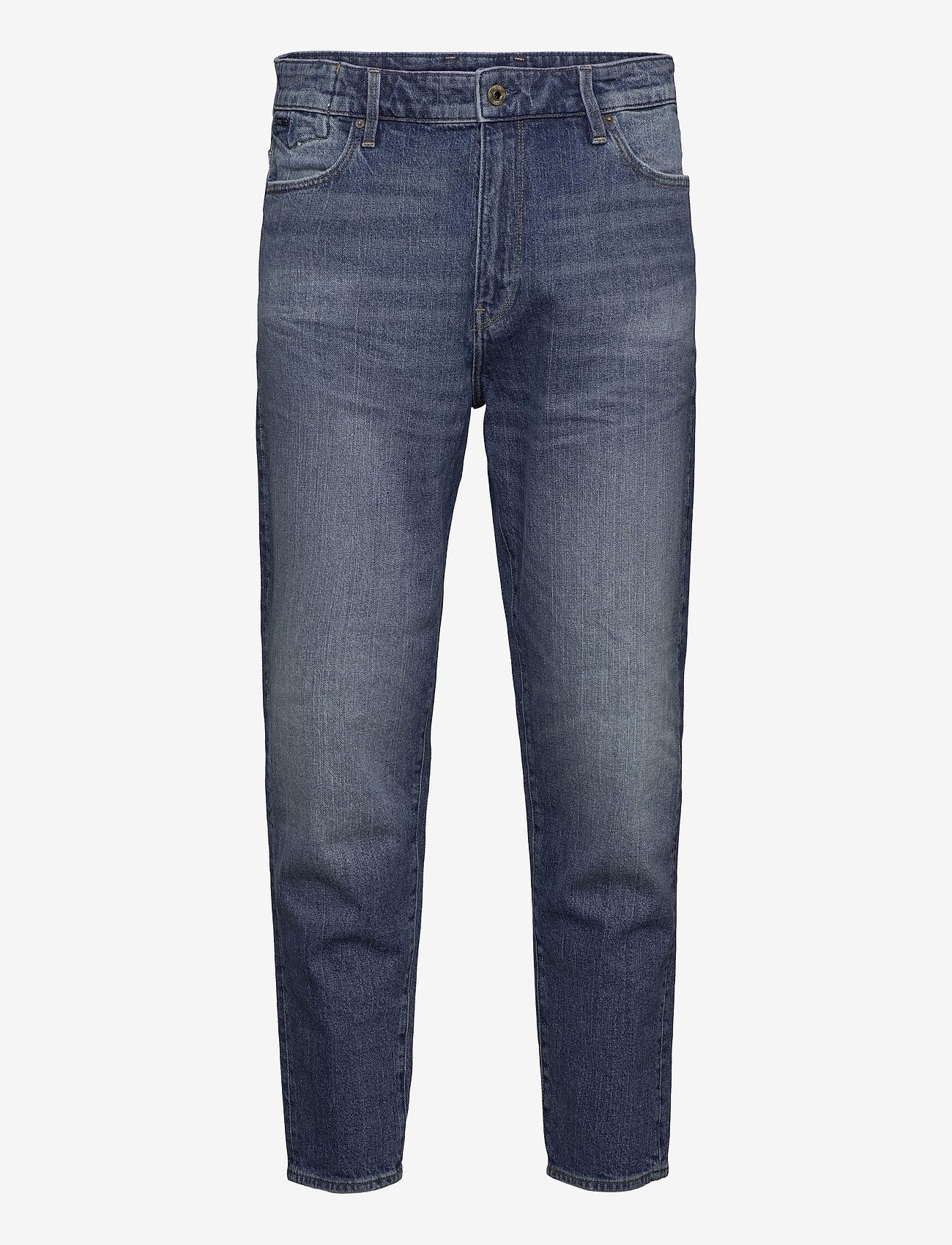 G-star RAW - Janeh Ultra High Mom Ankle Wmn - straight jeans - faded riverblue - 0
