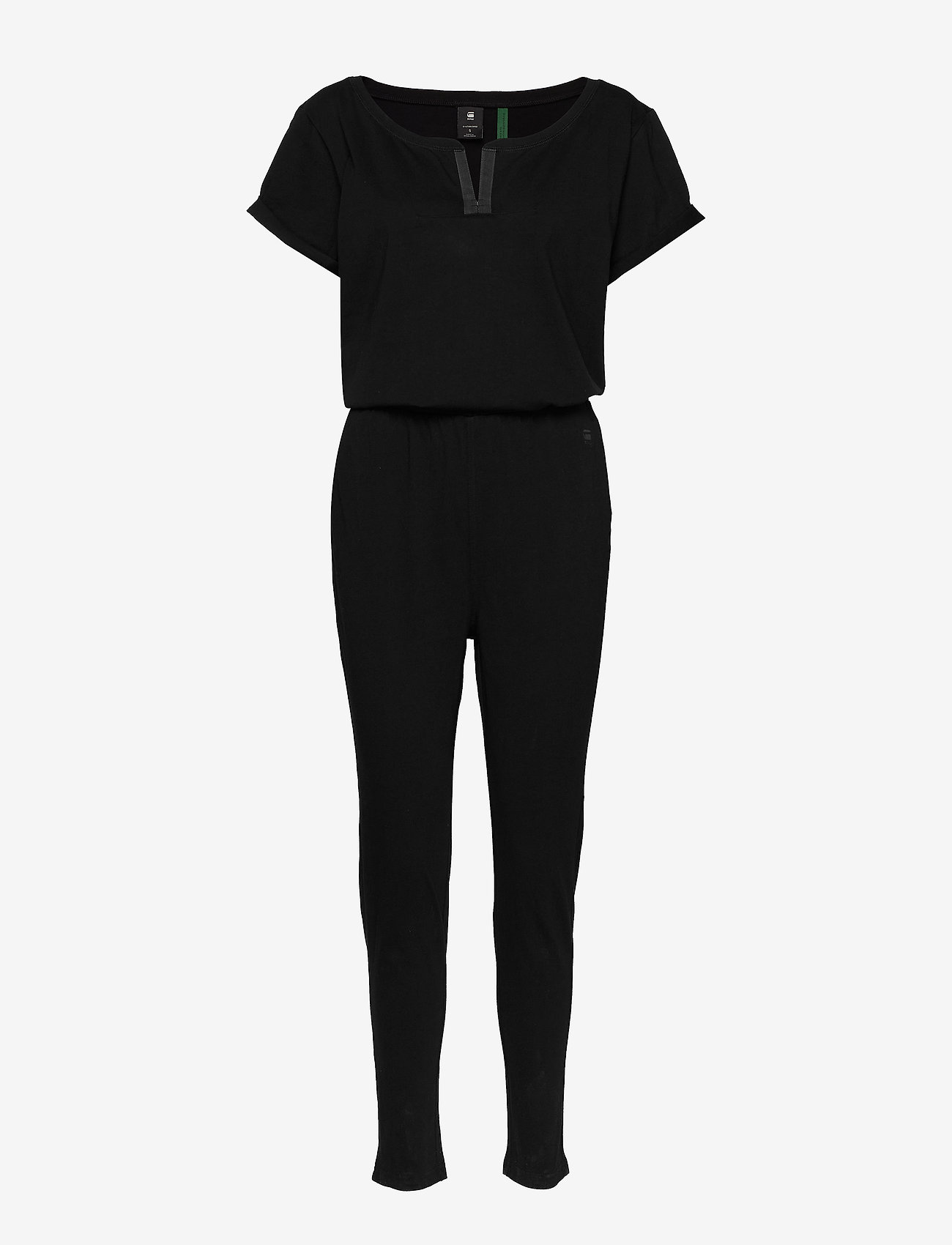 G-star RAW - Cocaux r suit wmn s\s - buksedragter - dk black - 0