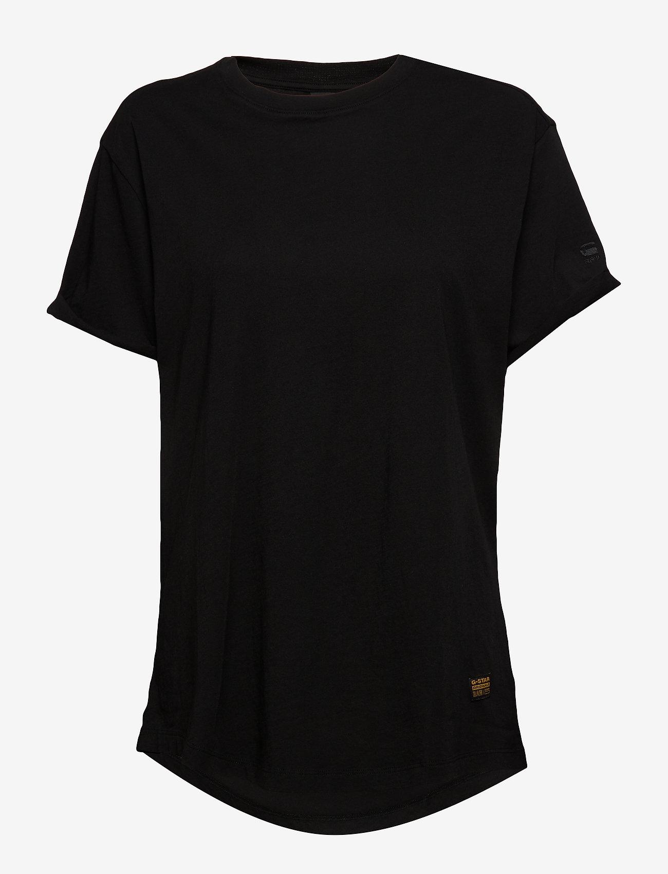 G-star RAW - Lash fem loose r t wmn s\s - t-shirts - dk black - 0