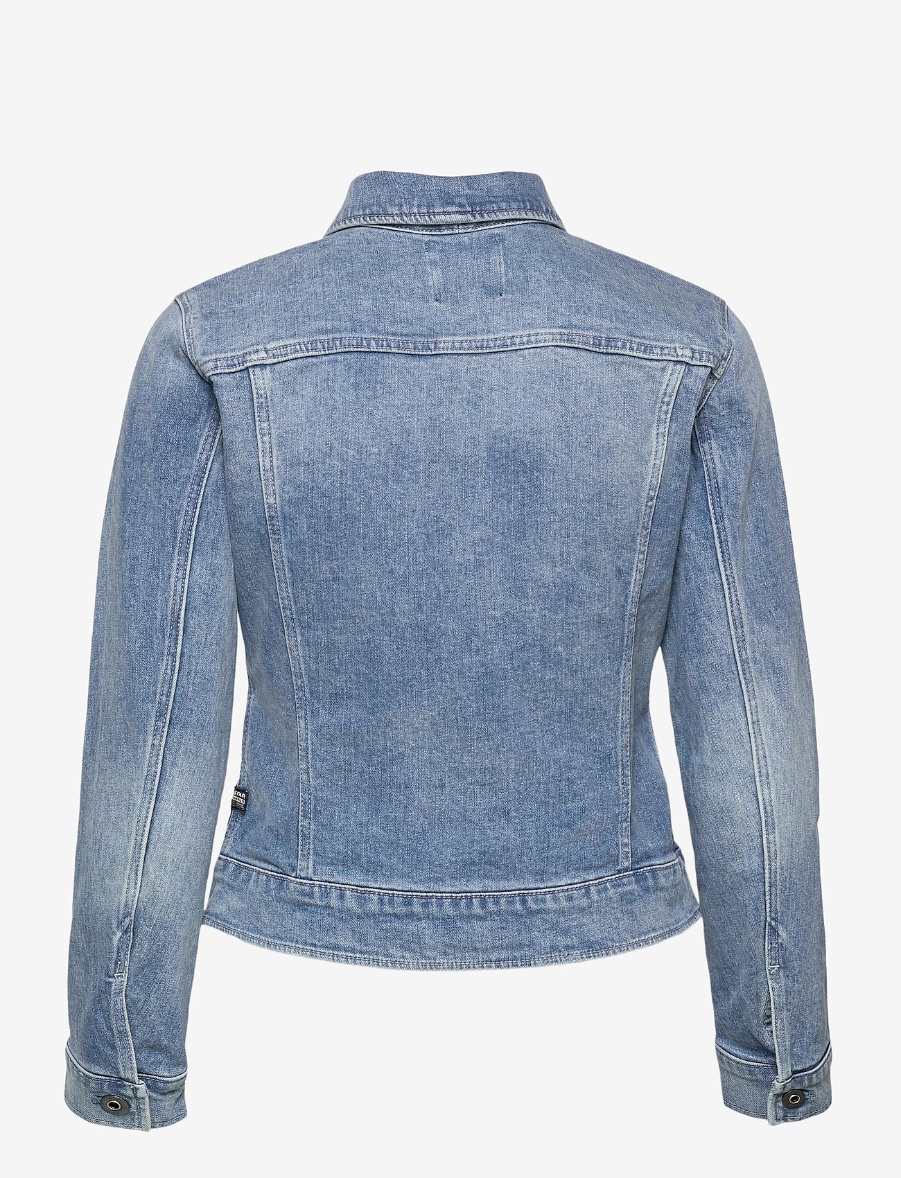 G-star RAW - 3301 Slim Jacket - spijkerjassen - sun faded stone - 1