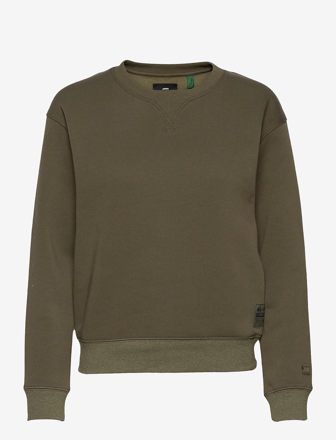 G-star RAW - Premium core r sw wmn l\s - sweaters - combat - 0