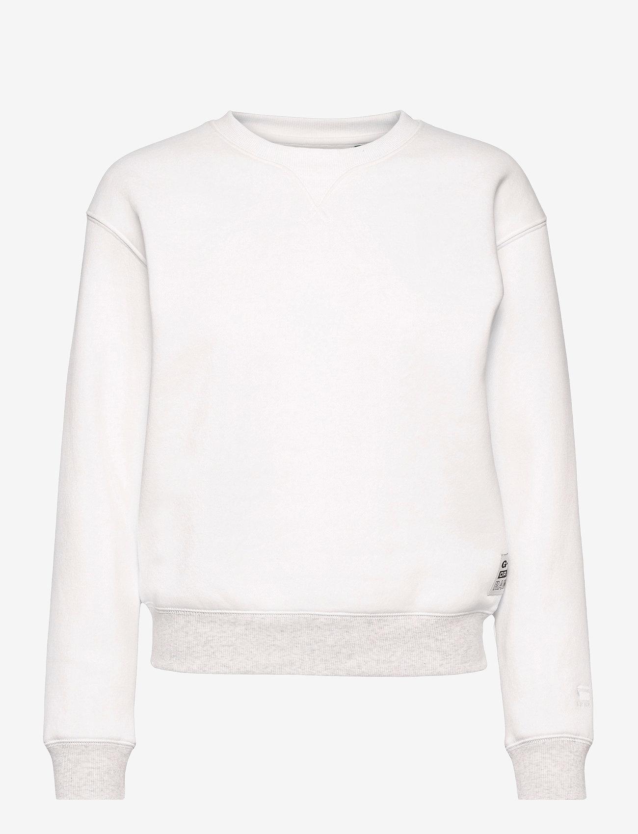 G-star RAW - Premium core r sw wmn l\s - sweaters - milk - 0