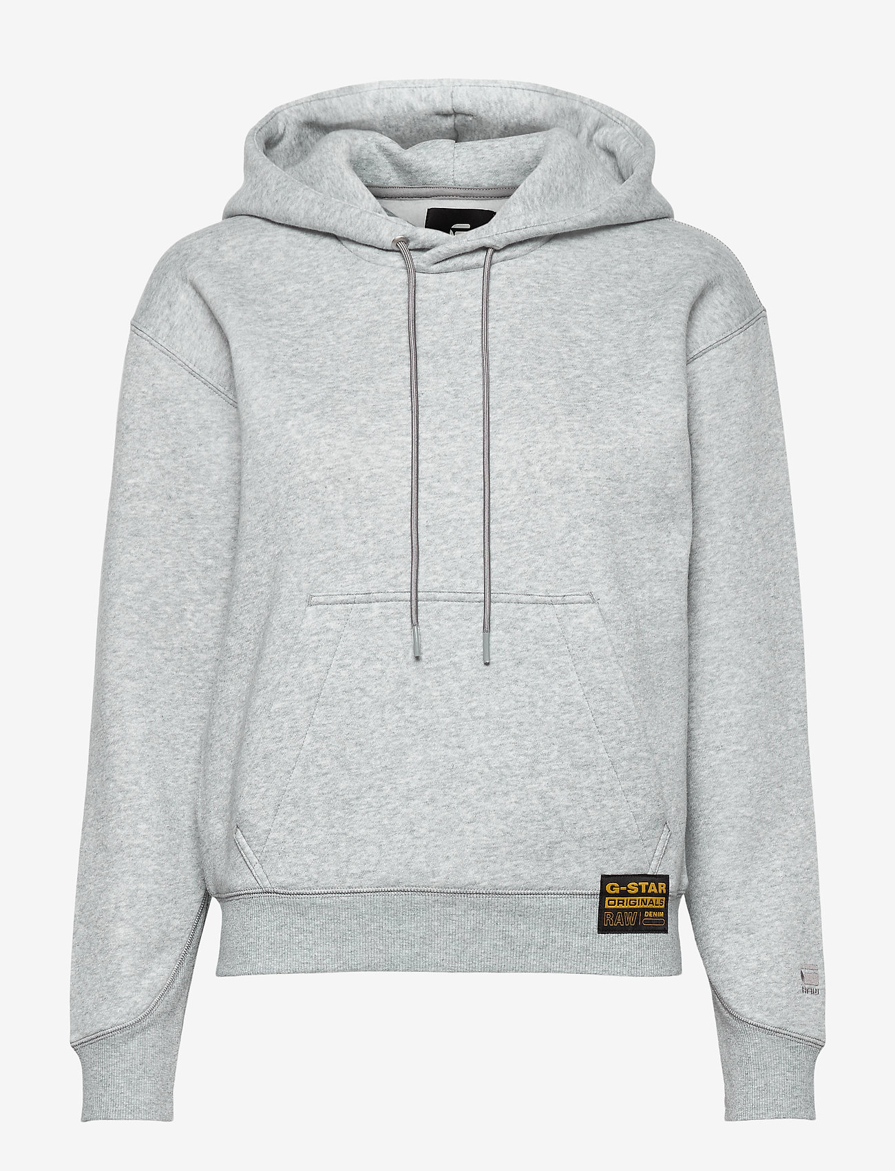 G-star RAW - Premium core hooded sw wmn l\s - hoodies - grey htr - 0