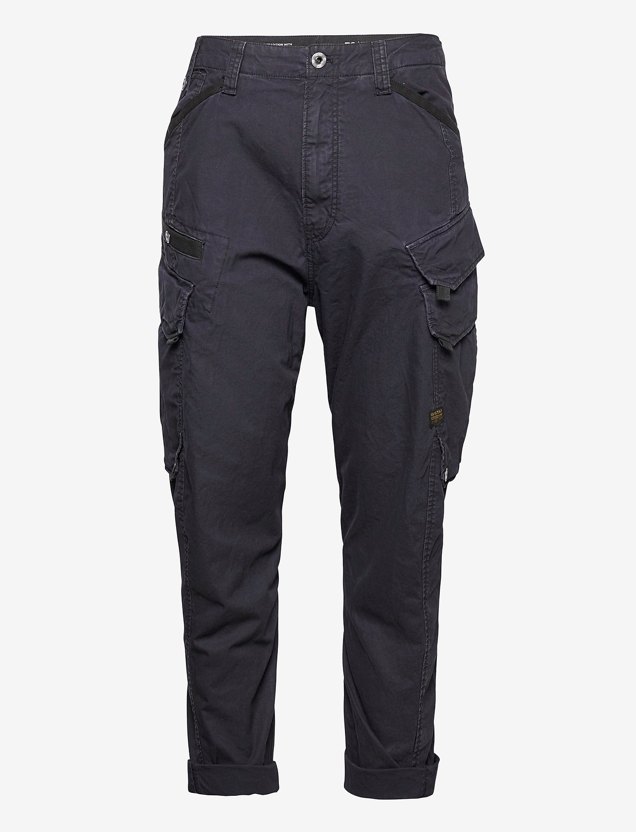 G-star RAW - Droner relaxed tapered cargo pant - cargobukser - sartho blue wave dyed - 0